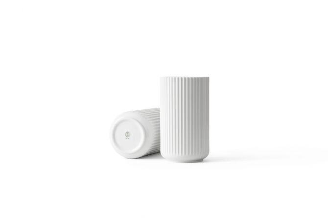 Lyngby Porcelæn Lyngby-Vasen 25 cm weiß