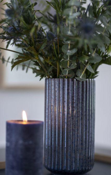 Lyngby Porcelæn Lyngby Radiance Vase Blau 20 cm_nicenordic_2