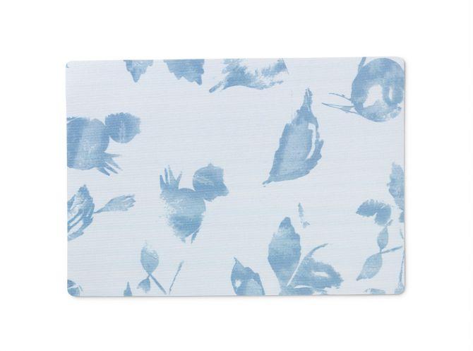 JUNA von Rosendahl Tischset Platzset Hiprose Blau Acrylbeschichtet mit Schaum-Unterlage. Skandinavisches Design, Tischdekoration und Heimtextilien bei nicenordic.de
