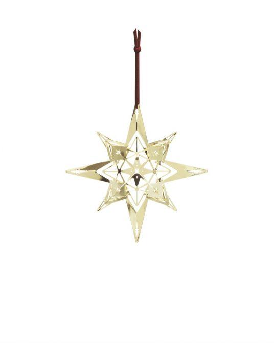 Rosendahl Weihnachtsstern Karen Blixen vergoldet_nicenordic_1