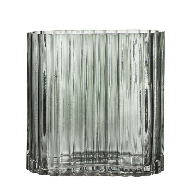Bloomingville Vase Oval Grün Glas_nicenordic_1
