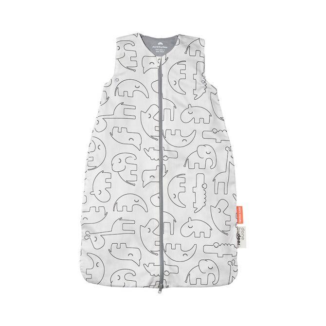 Done by Deer Babyschlafsack Sleepy TOG 1,0 Weiß 70cm. Sommerschlafsack. Babyschlafsäcke bei nicenordic.de
