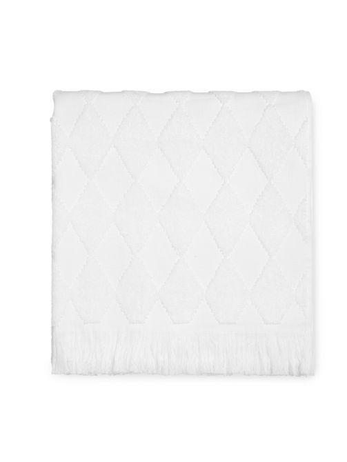 JUNA Handtuch Diamant 70x140 cm, weiß