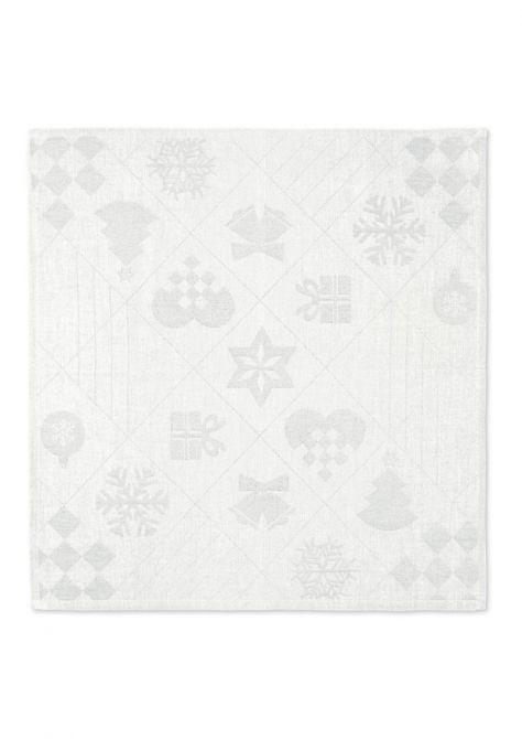 Juna Natale Weihnachts-Stoffserviette Off-White 45x45cm 4er-Set_nicenordic_1