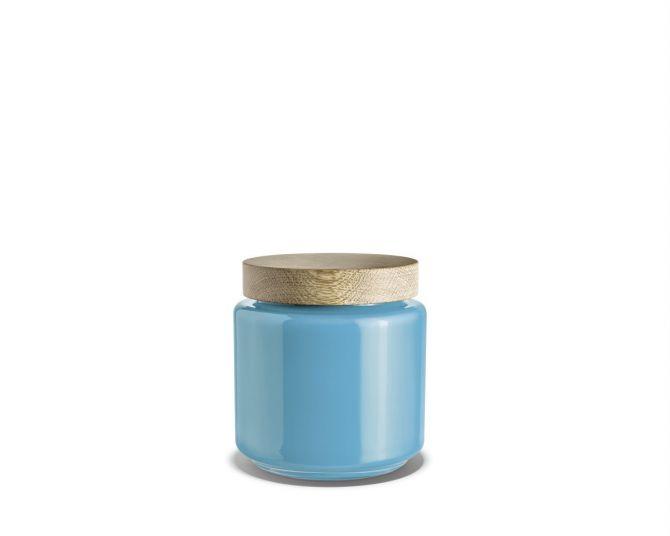 Holmegaard Palet Aufbewahrungsglas blau 2 L