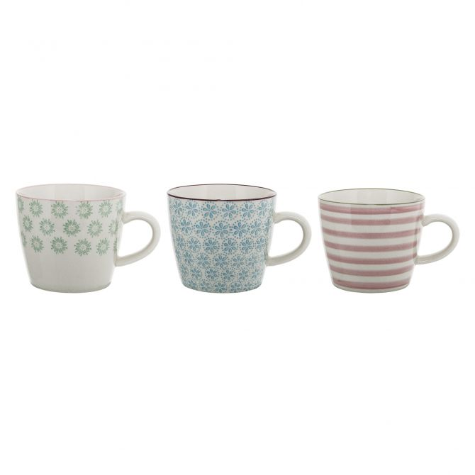 Bloomingville Tasse Patrizia 3-er Set, 300 ml