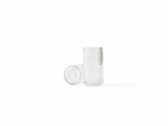 Lyngby Porcelæn Lyngbyvase Glas klar 20,5 cm