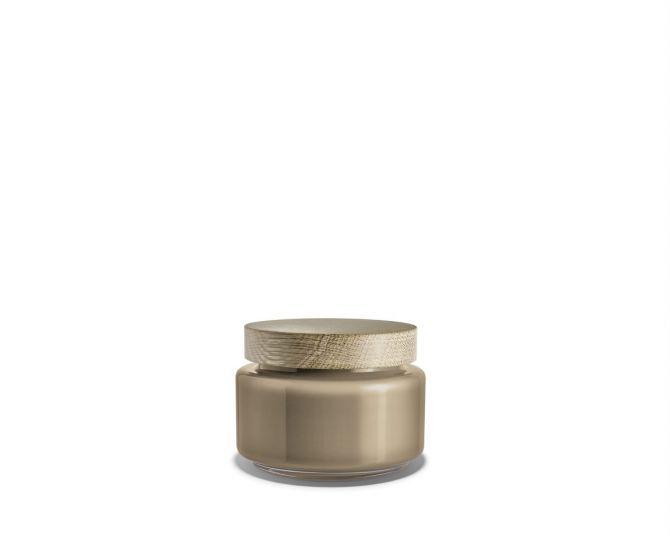 Holmegaard Palet Aufbewahrungsglas braun 1,2 L