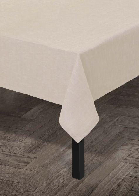 Juna Tischdecke Baumwolle Beige 150x270 cm_nicenordic_1