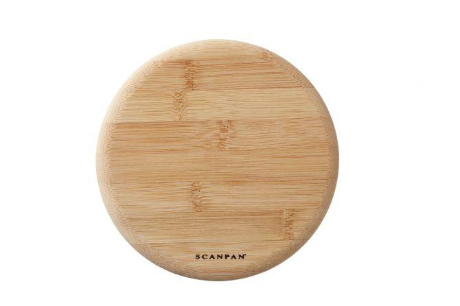 Scanpan Topfuntersetzer magnetisch rund. Untersetzer aus Bambus 18 cm mit Magneten. Küchenzubehör & Küchenutensilien bei nicenordic.de