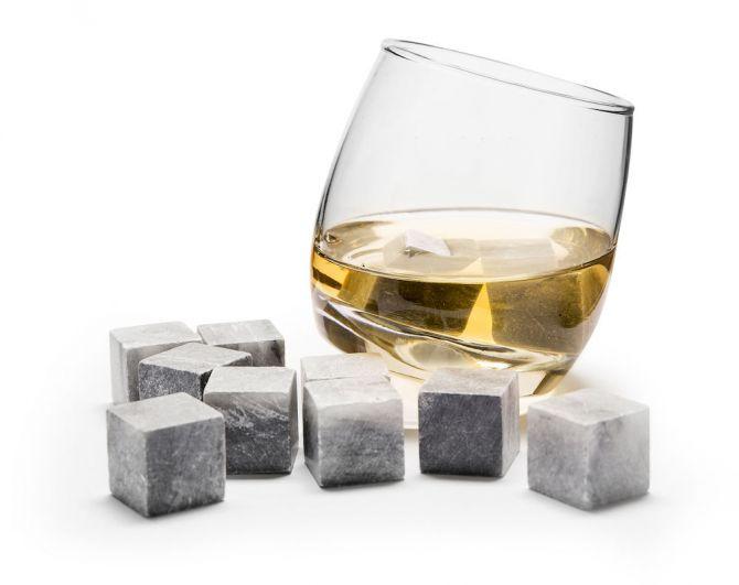Sagaform Whisky Steine Kühlsteine 9er-Set