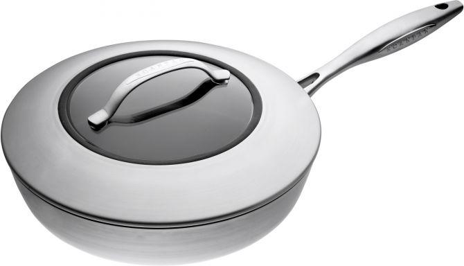 Scanpan Sautierpfanne Schmorpfanne Sautepfanne CTX 26 cm. Stratanium Beschichtung mit Keramik. Premium Pfannen und Kochgeschirr für Profis und Hobbyköche bei nicenordic.de