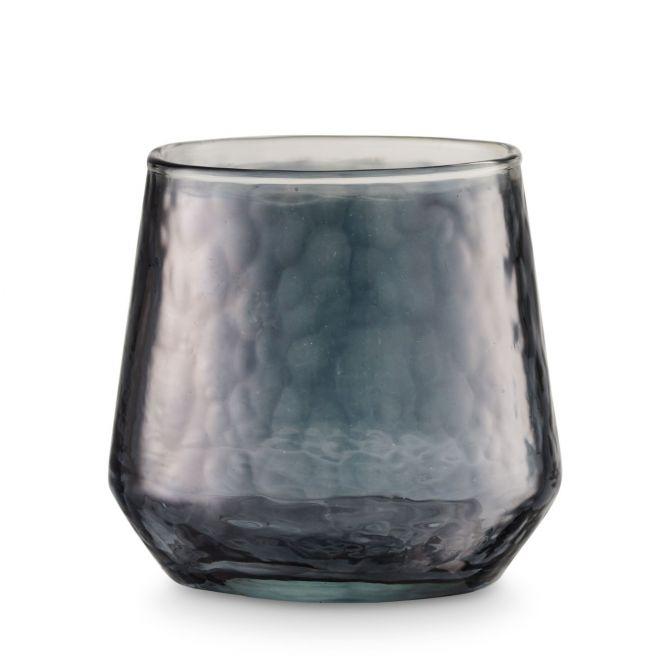 H. Skjalm P. Teelichthalter Luster Glas Grau 9 cm_nicenordic_3