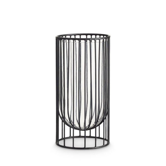H. Skjalm P. Wire Vase 23 cm