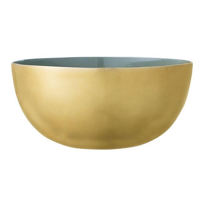 Bloomingville Schüssel gold grün 15 cm