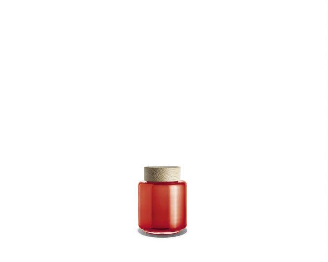 Holmegaard Palet Aufbewahrungsglas orange 35 cl