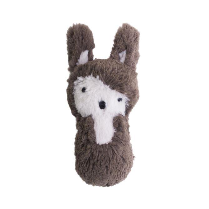 Sebra Rassel Kaninchen Plüsch braun. Siggy das Kaninchen. Skandinavisches Babyspielzeug bei nicenordic.de