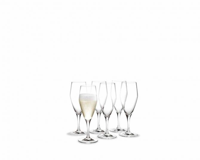 Holmegaard Perfection Champagnerglas 23 cl, 6er-Set