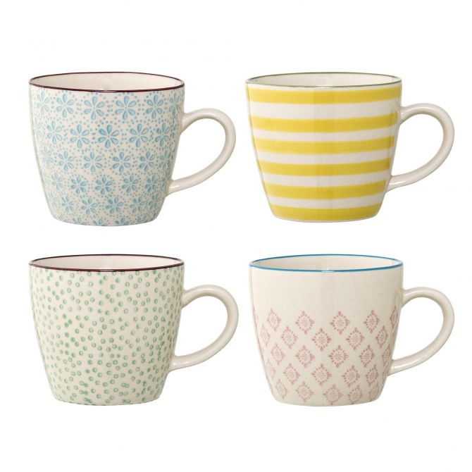 Bloomingville Tasse Patrizia 4-er Set, 220 ml