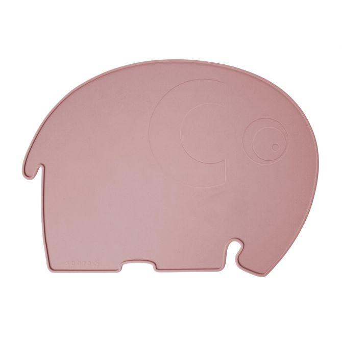 Sebra Tischset Elephant Silikon Pflaume