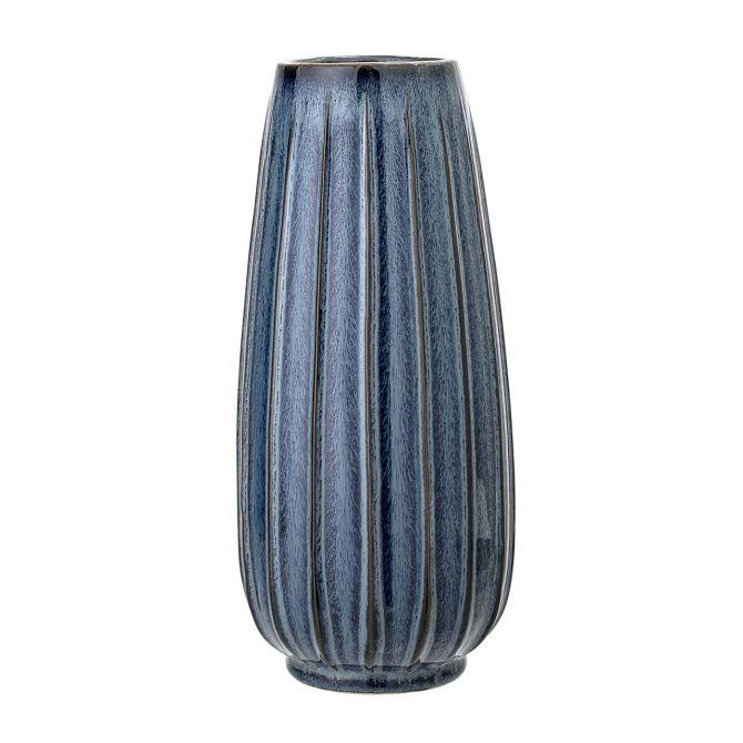 Bloomingville Vase Blau Keramik 30 cm_nicenordic_1