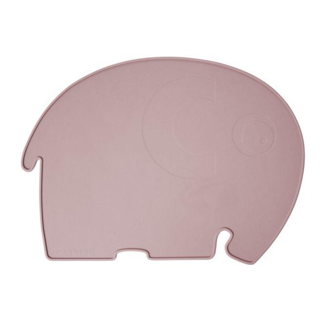 Sebra Tischset Fanto der Elefant Silikon Rosa_nicenordic_1