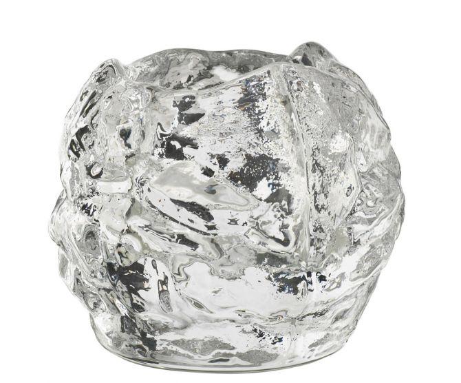 Kosta Boda Snowball Teelichthalter small