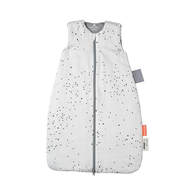 Done by Deer Babyschlafsack Dreamy Dots TOG 2,5 Weiß 70cm. Ganzjahresschlafsack. Winterschlafsack. Babyschlafsäcke bei nicenordic.de