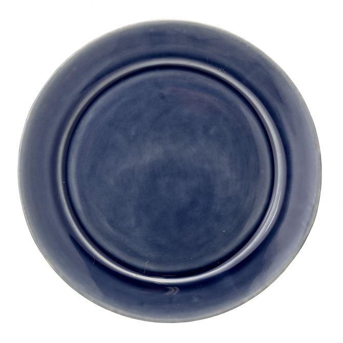Bloomingville Teller Anne 25 cm blau