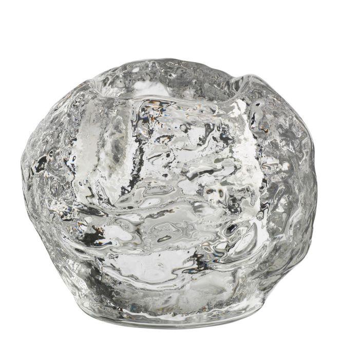 Kosta Boda Snowball Teelichthalter medium