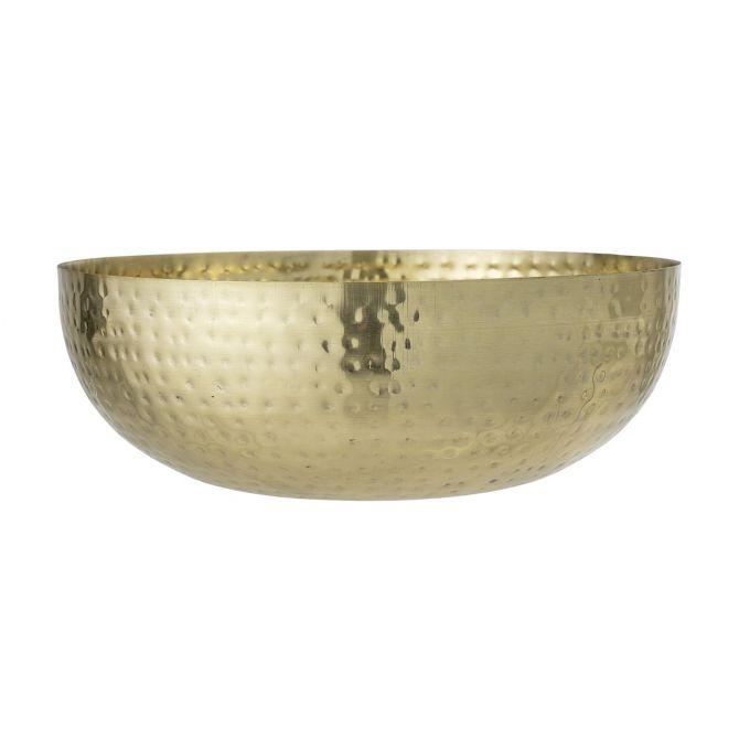 Bloomingville Deko Schale Gold Ø36 cm - nicenordic