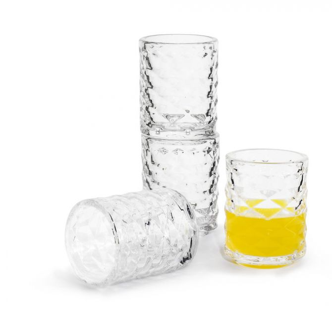 Sagaform Club Schnapsglas 4er-Set