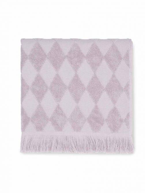 JUNA Handtuch Diamant 70x140 cm, rosa