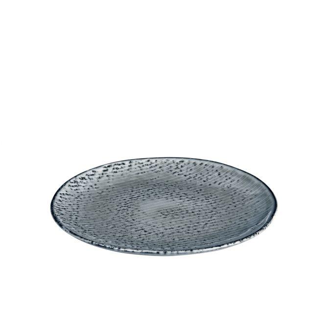 Broste Nordic Sea Speiseteller Essteller 26 cm blau grau. Keramik - Steingut. Speiseservice. Skandinavisches Geschirr für den gedeckten Tisch bei nicenordic.de