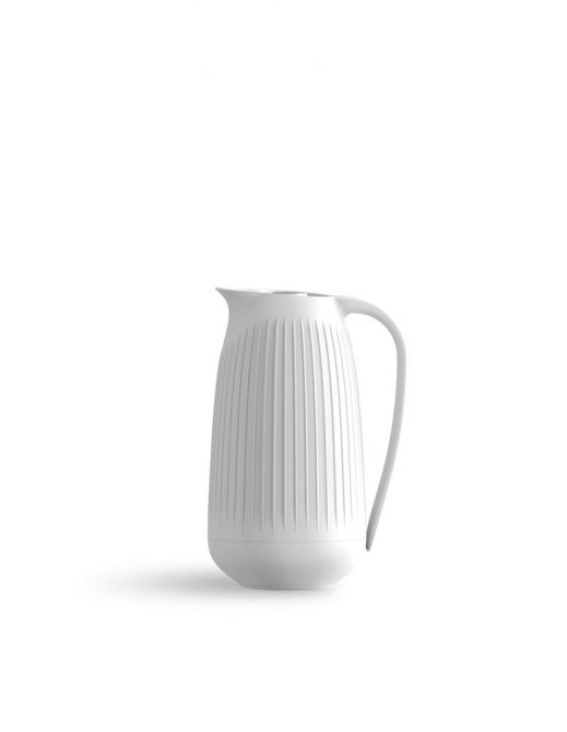 Kähler Hammershoi Thermoskanne 1 L weiß Isolierkanne. Kannen und Kaffeekannen bei nicenordic.de