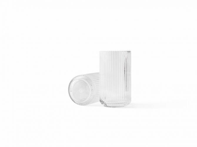 Lyngby Porcelæn Lyngbyvase Glas klar 25 cm