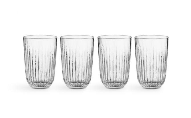 Kähler Hammershøi Wasserglas 33 cl klar 4er-Set