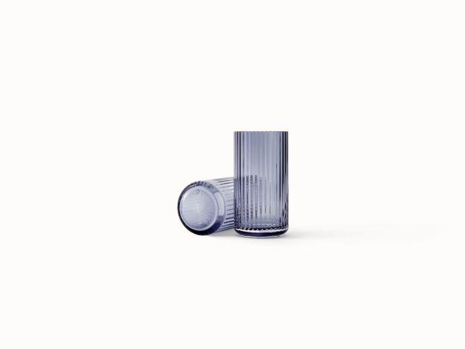 Lyngby Porcelæn Lyngby Vase Glas 20,5 cm Midnight Blue_nicenordic_1