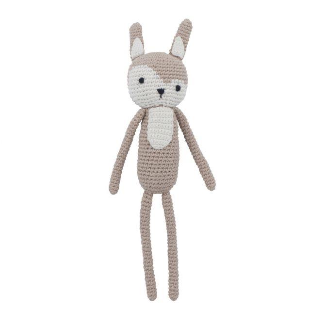 Sebra Häkel-Tier Siggy das Kaninchen Beige_nicenordic_1