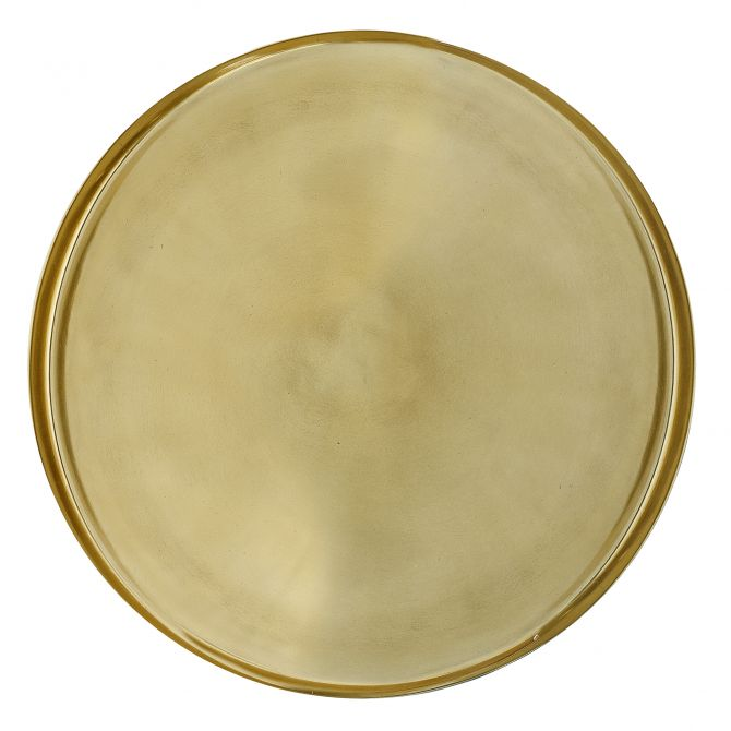 Bloomingville Tablett gold 50 cm