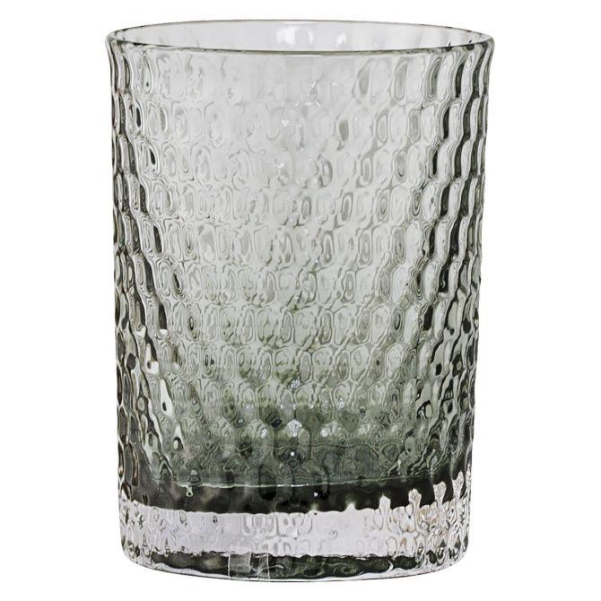Bloomingville Zahnputzbecher Glas Grau_nicenordic_1