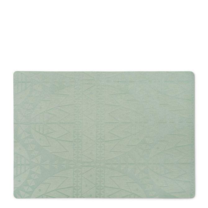JUNA von Rosendahl Tischset Ostern Hellgrün Grün 43 x 30 cm. Ostertischset bzw Platzset. Acryl-beschichtet mit Schaumunterlage. Skandinavisches Design, Tischdekoration und Heimtextilien bei nicenordic.de