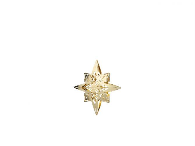 Rosendahl Weihnachtsstern Karen Blixen vergoldet H95. Baumschmuck in Gold. Design Zarah Voigt. Weihnachtsdeko und Weihnachtsschmuck bei nicenordic.de