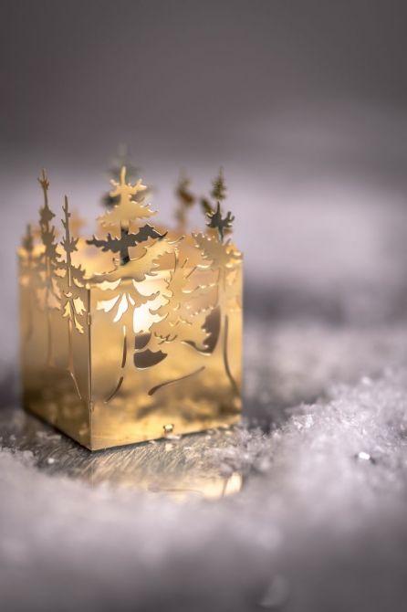 Jette Frölich Teelichthalter Winterwald Gold_nicenordic_1