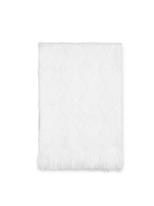 JUNA Handtuch Diamant 50x100 cm, weiß