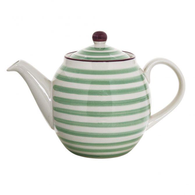 Bloomingville Teekanne Patrizia grün