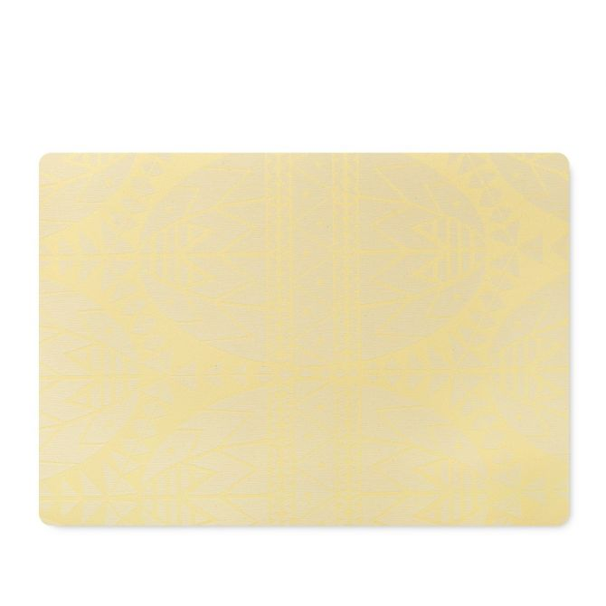 JUNA von Rosendahl Tischset Ostern Gelb 43 x 30 cm. Ostertischset bzw Platzset. Acryl-beschichtet mit Schaumunterlage. Skandinavisches Design, Tischdekoration und Heimtextilien bei nicenordic.de