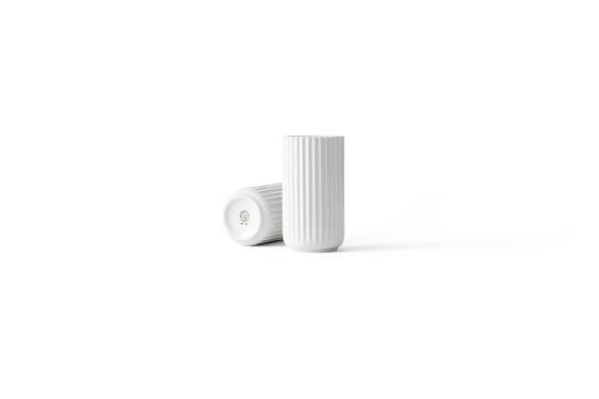 Lyngby Porcelæn Lyngby-Vase 15,5 cm matt weiß