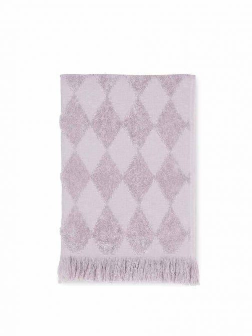 JUNA Handtuch Diamant 50x100 cm, rosa