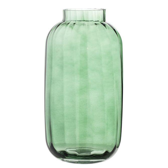 Bloomingville Vase Hoch Grün Glas_nicenordic_1